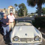Al & Sarah Beck's 1963 Triumph TR4